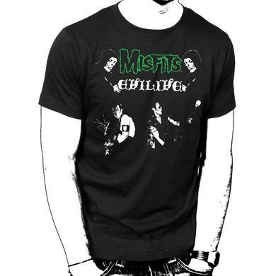 The Misfits Evil Live T-Shirt
