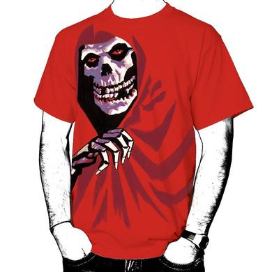 The Misfits All Over Red Fiend T-Shirt