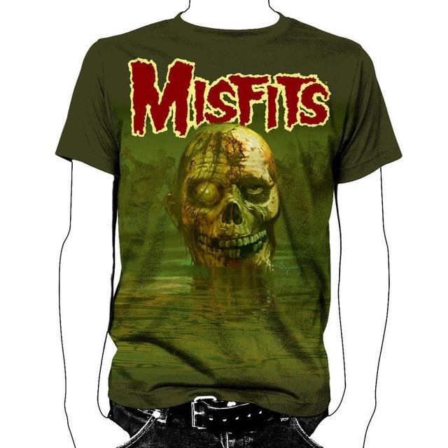 The Misfits Land of the Dead All Over T-Shirt