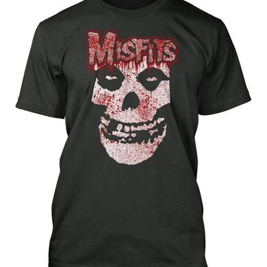 The Misfits Bloody Skull Black T-Shirt