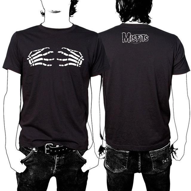 The Misfits Skeleton Hands T-Shirt - Men's