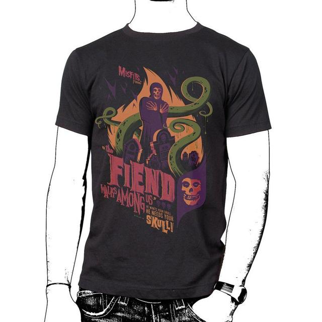 The Misfits Fiend Walks Among Us T-Shirt