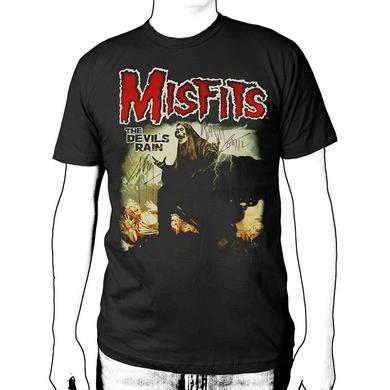 The Misfits HAND SIGNED Devils Rain Tour T-Shirt