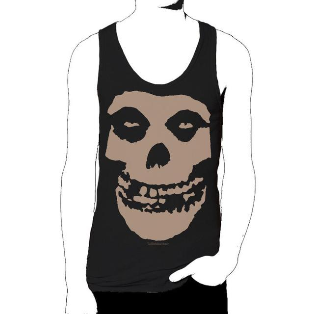 The Misfits Bleached Fiend Skull Tank Top