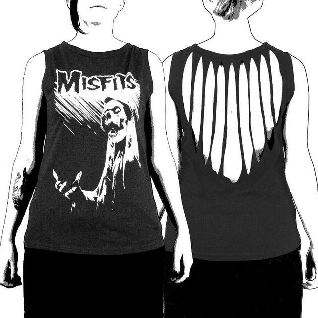 The Misfits Devil's Rain Slashed Women's Tank Top