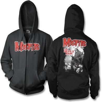 The Misfits Devils Rain Zip Hoodie