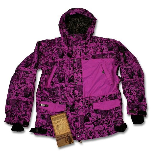 The Misfits Bullet Snowboarding Jacket