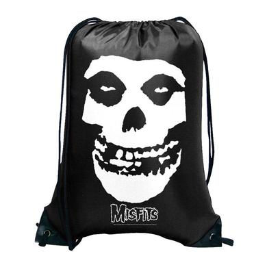 The Misfits Skull Cinch Bag