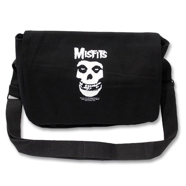 The Misfits Fiend Skull Shoulder Bag