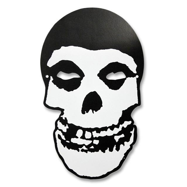 The Misfits Fiend Skull Paper Mask