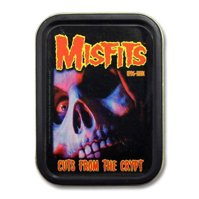 The Misfits Cuts Skull Square Stash Tin