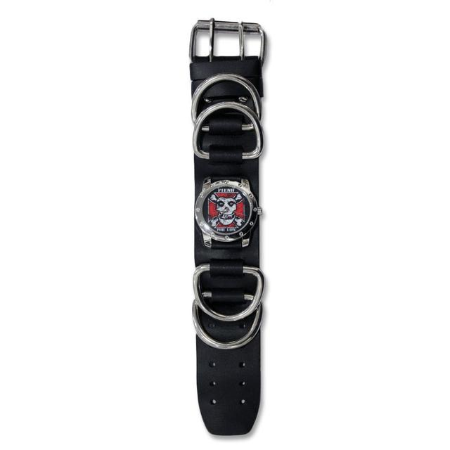 The Misfits Fiend For Life D-Ring Cuff Watch