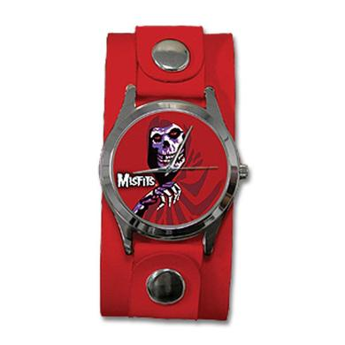 The Misfits Red Fiend Red Cuff Watch