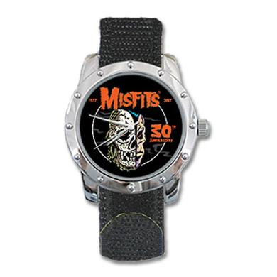 The Misfits 30th Anniverscary Velcro Watch