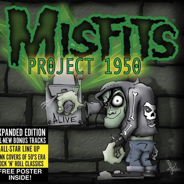 "Misfits ""Project 1950"" Expanded Edition CD"