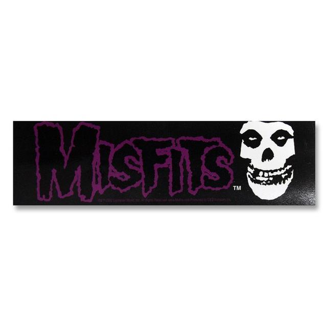 The Misfits Logo & Skull Sticker
