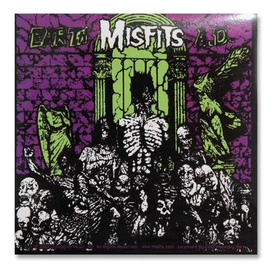 The Misfits Earth AD Sticker