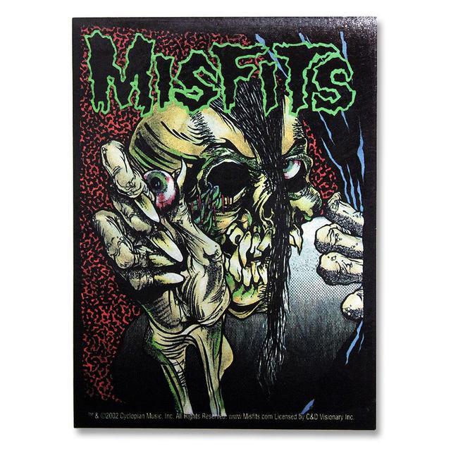 The Misfits Pushead Full Color Evil Eye Sticker