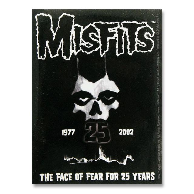 The Misfits 25th Anniversary Logo Sticker
