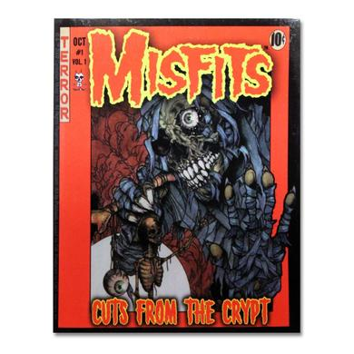 The Misfits Cuts Comic Book Cover Sticker