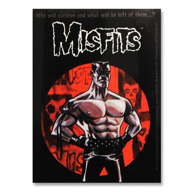 The Misfits Lukic Only Sticker