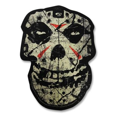 Misfits Crystal Lake Skull Sticker