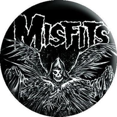 """Misfits """"Descending Angel"""" Button"""