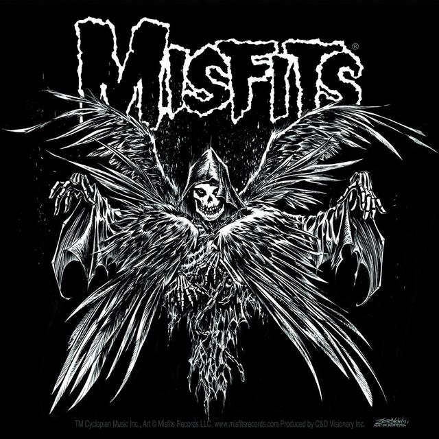 Misfits Descending Angel Sticker