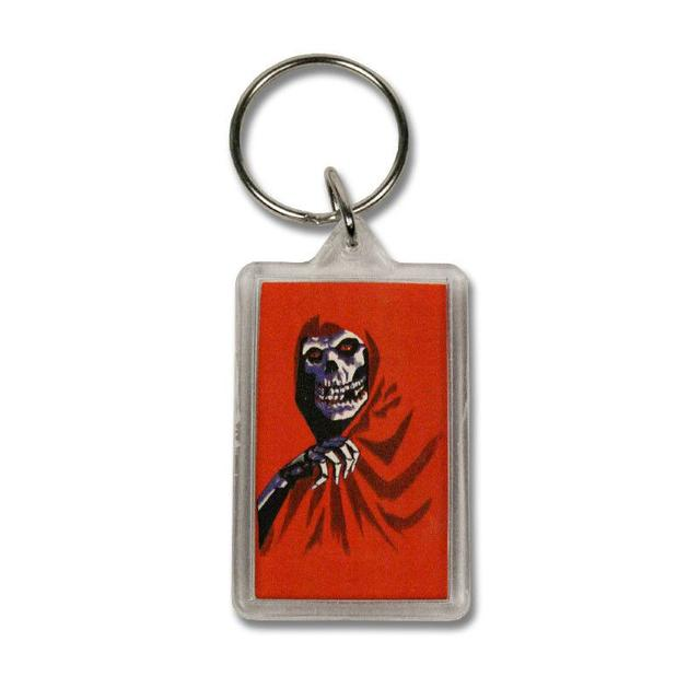 The Misfits Red Fiend Lucite Keychain
