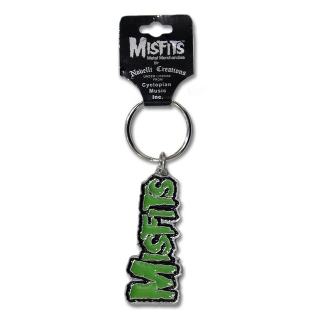 The Misfits Logo Keychain