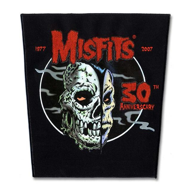 The Misfits 30th Anniverscary Back Patch