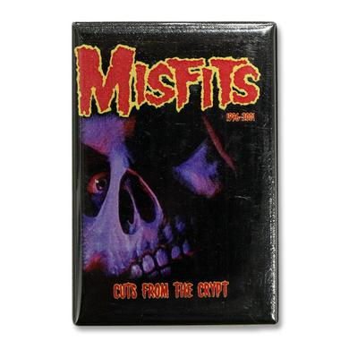 The Misfits Cuts From The Crypt Skull Refrigerator Magnet