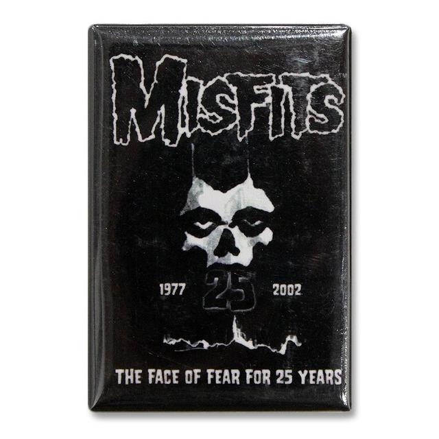 The Misfits 25th Anniversary Logo Refrigerator Magnet