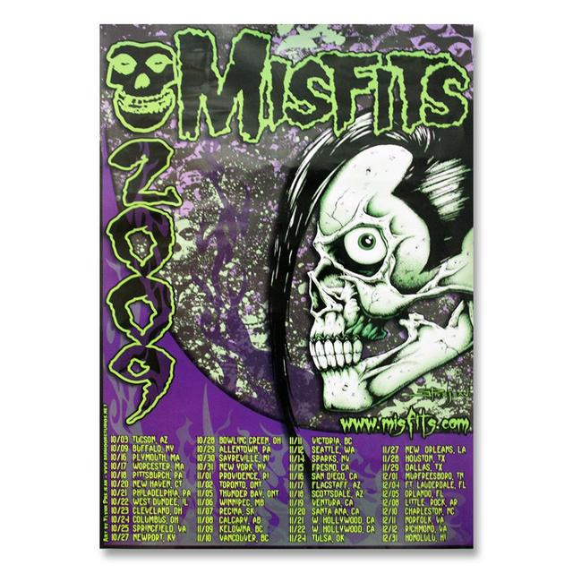 The Misfits Fall 2009 Tour Poster
