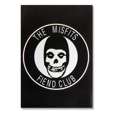 The Misfits Fiend Club Postcard