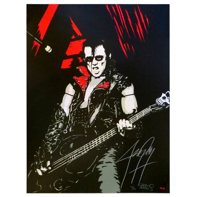 The Misfits Jerry Only AUTOGRAPHED Ltd Ed screen-printed poster