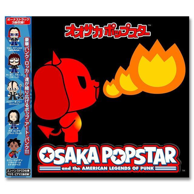The Misfits Osaka Popstar & The American Legends Of Punk - Japanese Import CD
