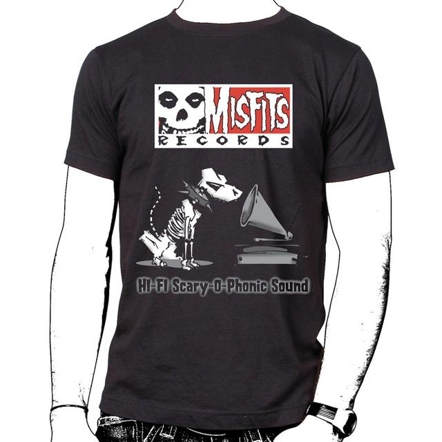 Misfits Records Double Logo Shirt