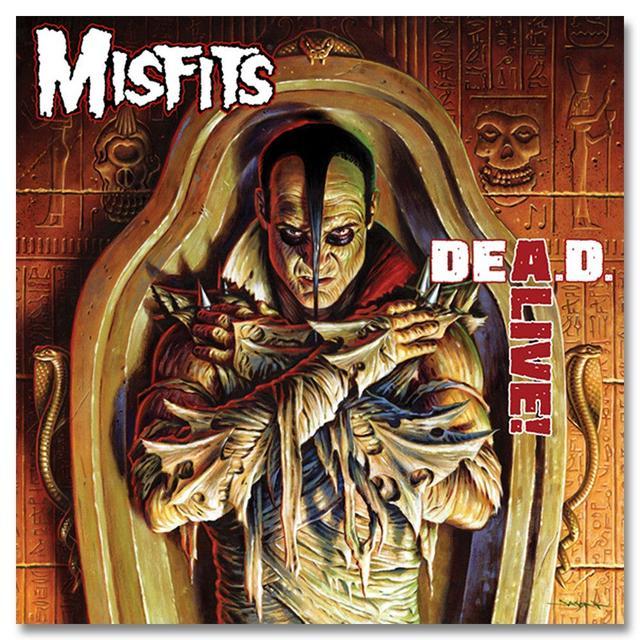 MISFITS DEA.D. ALIVE! CD