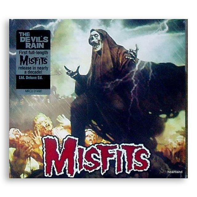 The Misfits The Devil's Rain LTD Deluxe CD