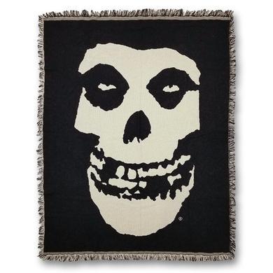 The Misfits Fiend Skull Woven Blanket