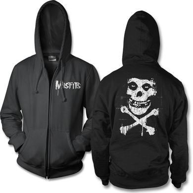The Misfits Bones Zip Hoodie