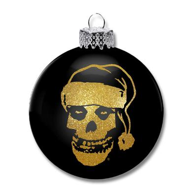 The Misfits Santa Fiend Ornament (Gold)