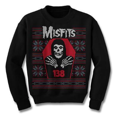The Misfits Crimson Christmas Ugly Sweatshirt
