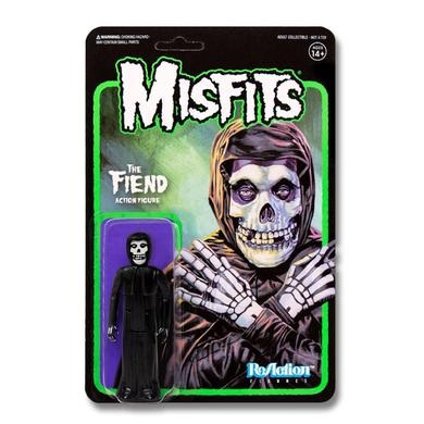 "'Midnight Black' Misfits Fiend 3.75"" ReAction Figure"