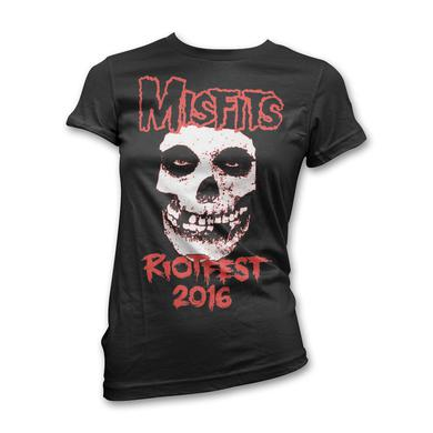Original Misfits Reunion, Riot Fest Event T-shirt - Woman's