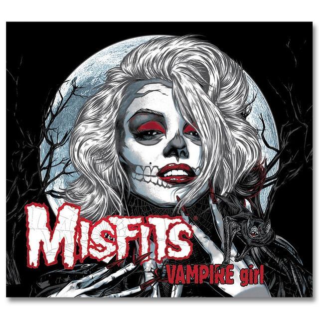The Misfits Vampire Girl / Zombie Girl CD