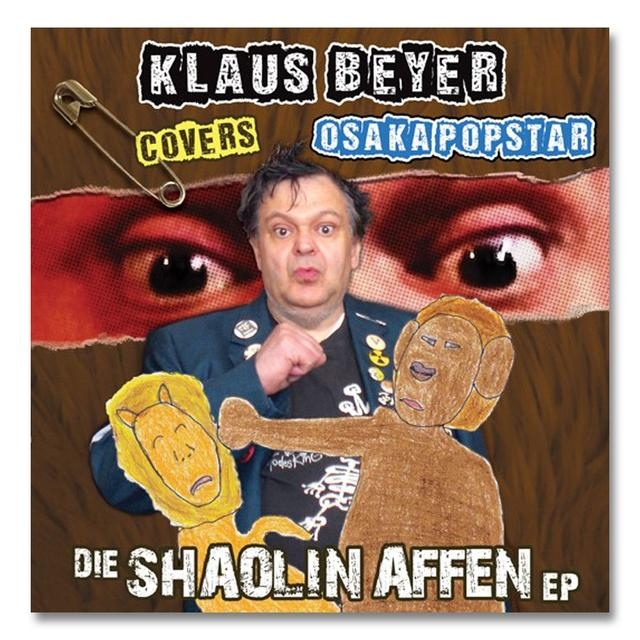 The Misfits Klaus Beyer Covers Osaka Popstar: Die Shaolin Affen EP Vinyl 7-inch (3 Color Options)