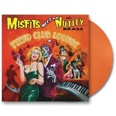 "Misfits Meet the Nutley Brass: Fiend Club Lounge - Expanded Edition 12"" LP (Orange) (Vinyl)"