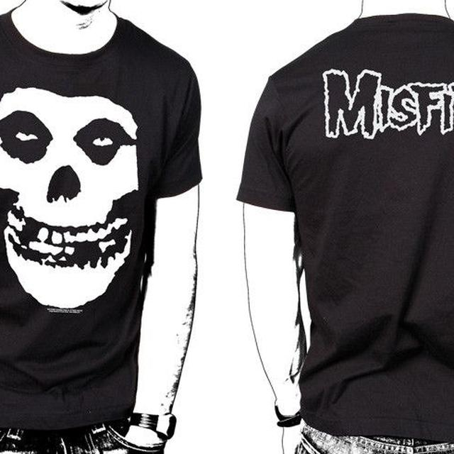 The Misfits Classic Skull T-Shirt